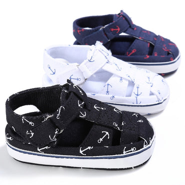 Summer Style Fashion Anchor Infant Toddler Shoes