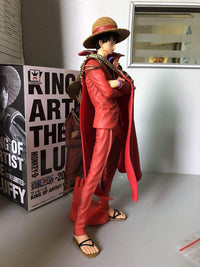 Anime One Piece Action Figure Red Clothes