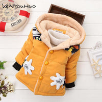 Christmas Baby Girls Boys Winter thick Jacket Warm Cotton
