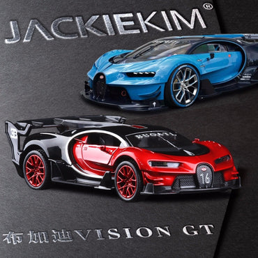 1:32 Scale Bugatti VISION GT Metal Toy Alloy Car Diecasts & Toy Vehicles