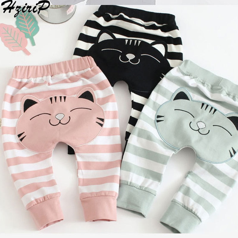 Baby Pants Cotton Stripe