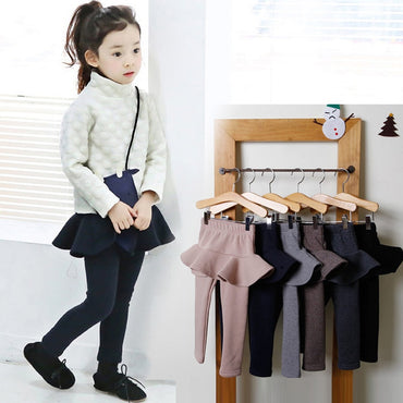 Top Quality Girls Cotton Skirt-pants