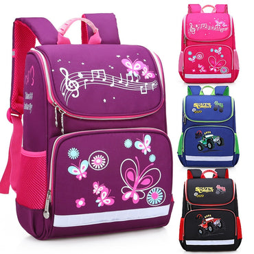 Backpack Kids Satchel Boy Car Knapsack Girl Backpack