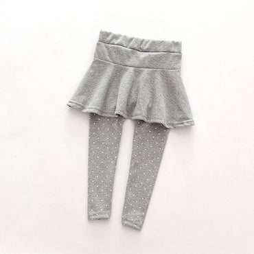 Fashion Culottes Render Girl Leggings Skirt Pants