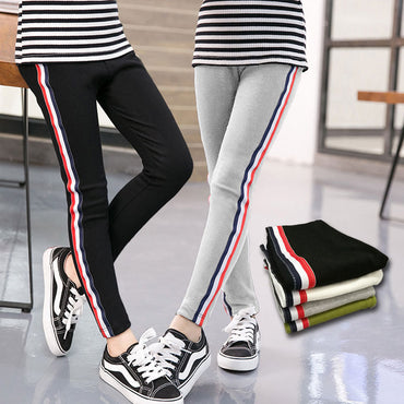 New Fashion Sports Leggings Solid Color Girl Pencil Pants