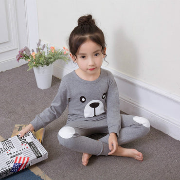 Kids Boys Girl Sleepwear Cotton Pajamas Sets