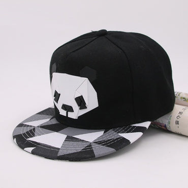 Hot Cartoon Hats 3D Silicone Panda Animal Pattern Baseball Caps
