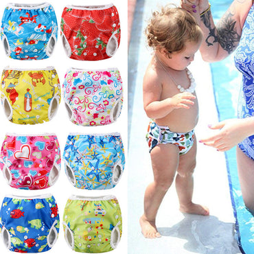 Adjustable Reusable Baby Summer Boys Girls Shorts