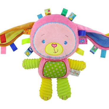 Baby Toddler Rattles Toys Appease Doll Plush Animal Hand Bells