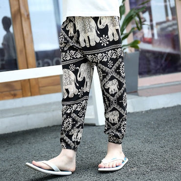 Hot Selling Boy and Girl Harem Pants Bohemian Style