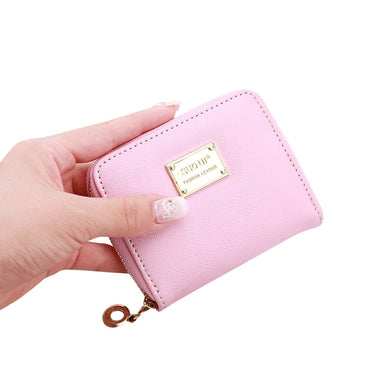 Mini Women Wallets Purses Female Short Coin Zipper Purse