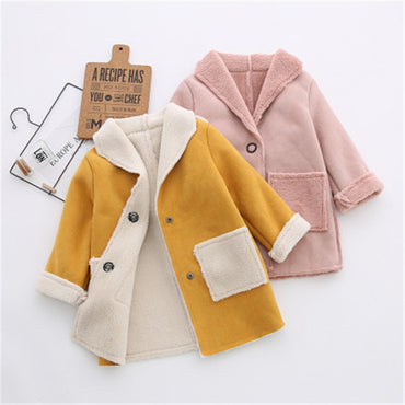 New Autumn Spring Baby Boys Girls Coat Children Fleece Jacket