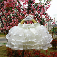 Girls Cake Tutu Pettiskirt Dance Mini Skirt