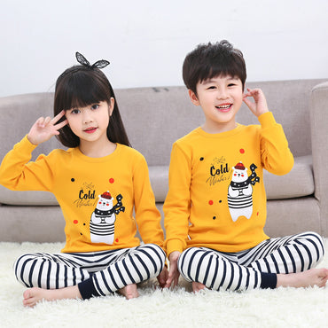 Boys Girls Pajamas Unicorn Cotton Nightwear