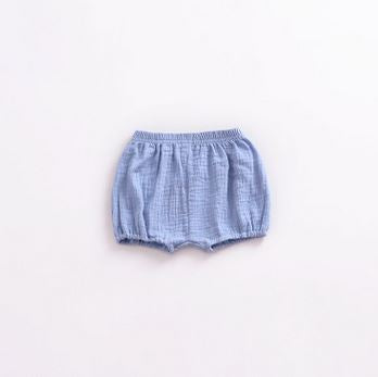 Baby Girls Solid Design Loose-fitting Short Pants