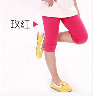 Hot Selling Comfortable Girl Short Leggings Pants