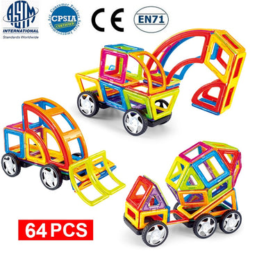 Magnetic Building Blocks Educational Construction Toys