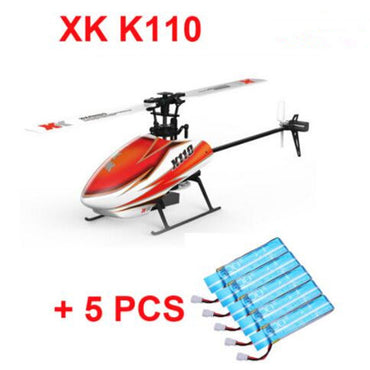 Original XK K110 BNF +5PCS Extra 520mAh Battery