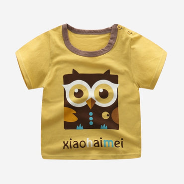 Baby Boy Solid T shrit Kids 100% Cotton T-shirts