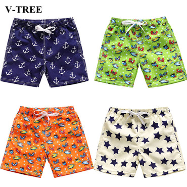 Teenager Beach Shorts Casual Children Pants