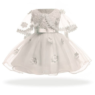 Baby Girl Vintage Party Princess Dress