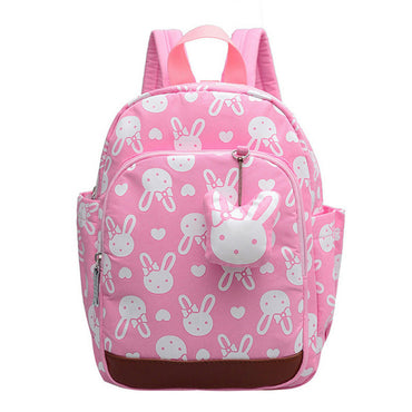 mini cartoon bunny print backpack shoulder bag