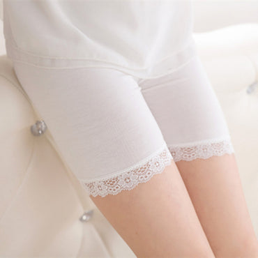 New Arrival Girl Soft Elastic Cotton Leggings Short Pants