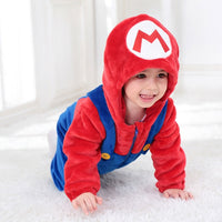 Cute Soft Onesie Winter Warm Playsuit Brother