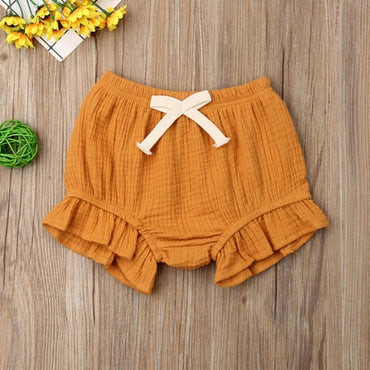 Clothing Toddler Infant Baby Girls Boy Solid Shorts
