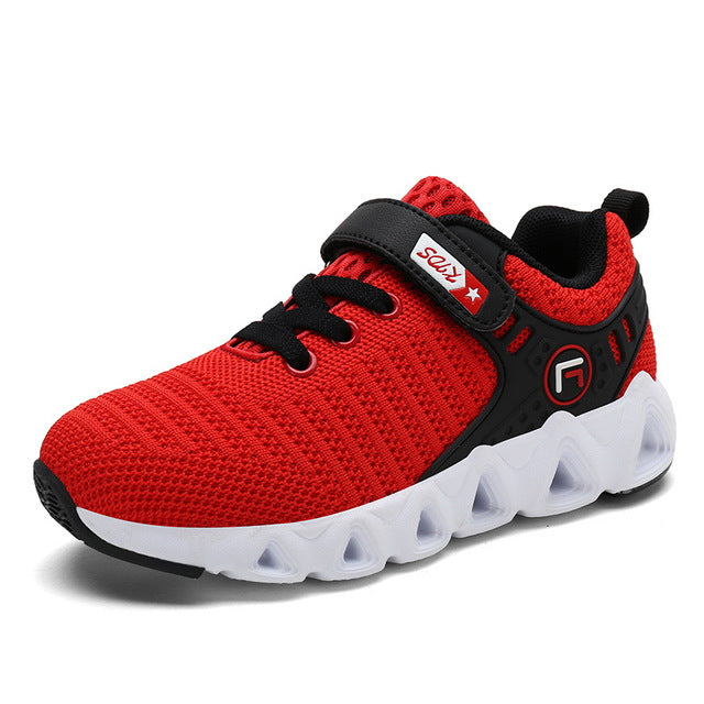 Kids Running Shoes Boys Fashion Breathable Sneakers