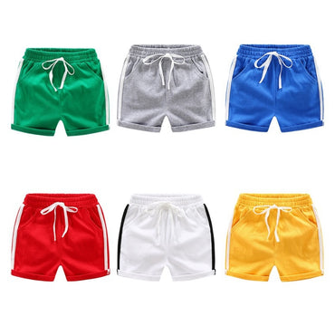 Baby Boy Shorts Summer Children Trousers Stripe Short Pants