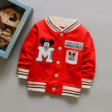 Spring Letter Boys Outwear Children Brand Kids Coats Boys