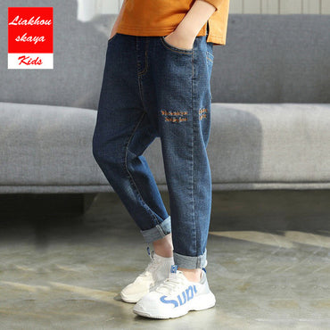 New Fashion Boys Casual Denim Soft Jeans