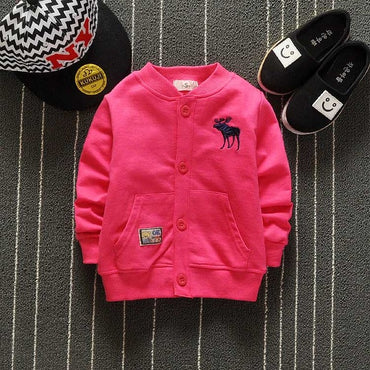 Girls Cotton Jacket Coat Kids Girl Outerwear Baby Boy