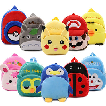 Cartoon Cute Plush Children Backpacks Mini Schoolbag