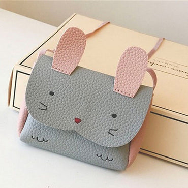Children Cute Rabbit mini small Wallet Coin Shoulder Messenger Bag