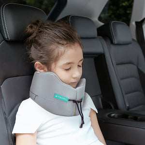 The BEST Travel Pillows For Kid's Neck Pillow with All-rounded Neck Support - strawcrafts