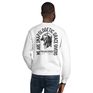 Grace Givers V2 Back Print Unisex Sweatshirt