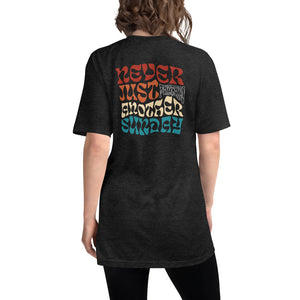 Never Just Another Sunday - Tri-Blend Shirt