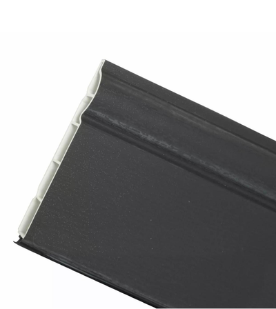 2.5m Length Anthracite Grey PVC Skirting