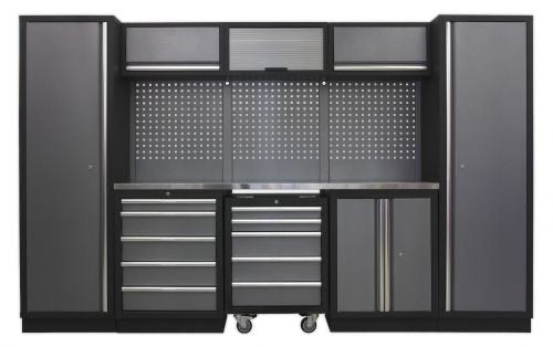 Sealey 8 Cabinet Set GSCS07 - Superline Pro Range