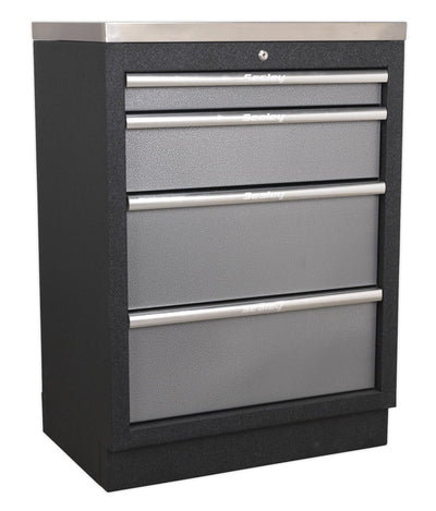 Sealey 4 Drawer Cabinet GSDS08 - Superline Pro Range