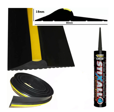 Rubber Garage Door Threshold Seal