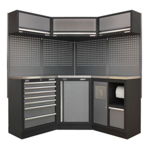 Sealey Corner Solution Cabinet Set GSCU03 - Superline Pro Range