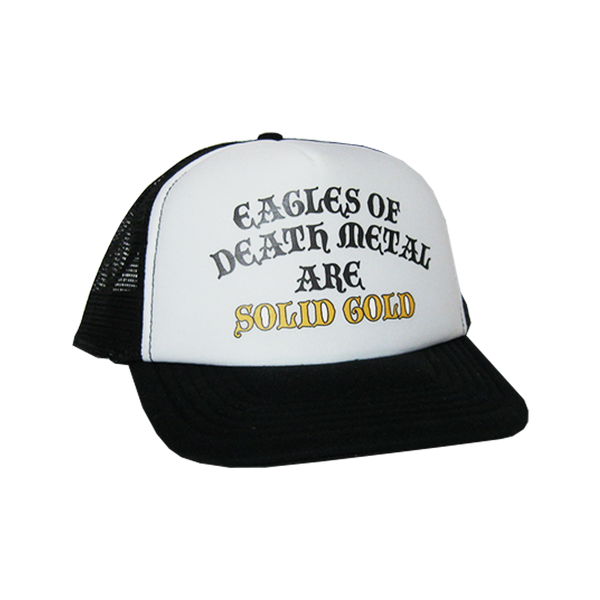 Solid Gold Trucker Hat