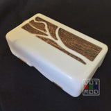 Lukkos Puzzle box DNA40 Old White - Olive - A