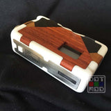 Lukkos Puzzle box DNA40 White - Padouk-Ebony-Tek