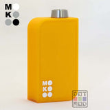 Neon-M Transparent Orange/White