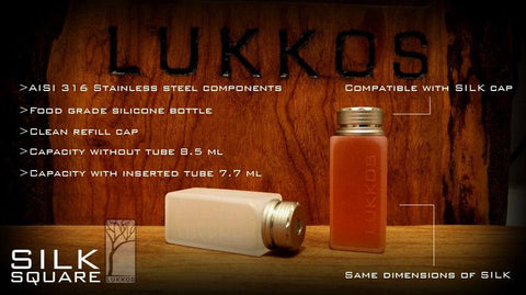 Lukkos Silk Square Bottle