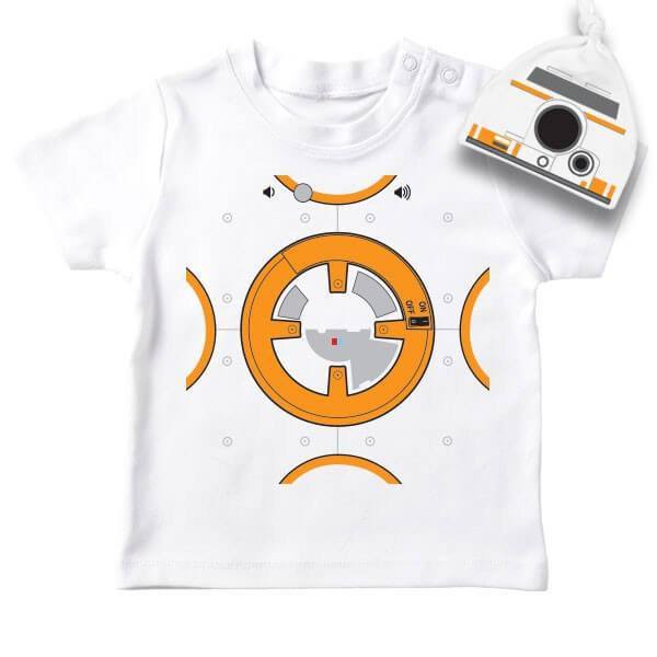T-Shirt bebe original Star Wars BB8 - PETIT DEMON